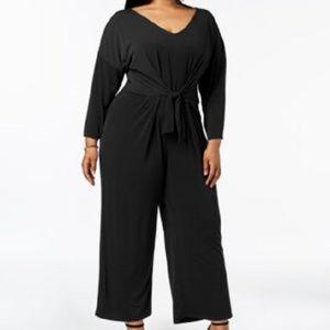 NY COLLECTION 3X PLUS SIZE JUMPSUIT DRESS